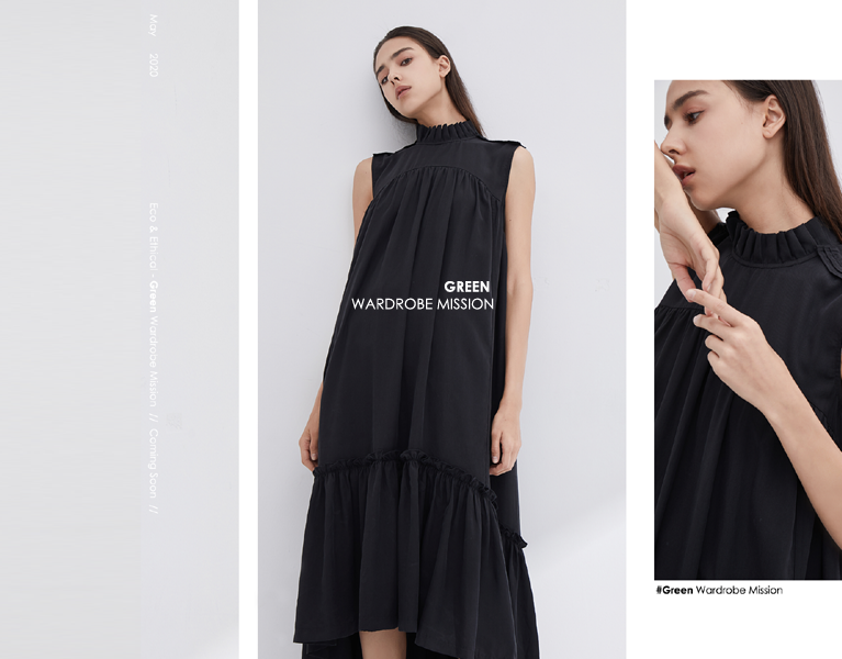 Buy Woman's Fashion Online Sustainable Fashion Singapore Banner