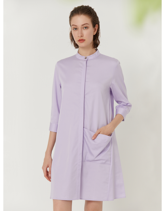 GARDEN COLLAR SHIRT DRESS